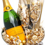 Veuve Gold Toast