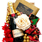 Moet Flower Gift Box