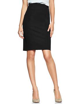 GAP Pencil Skirt in Black